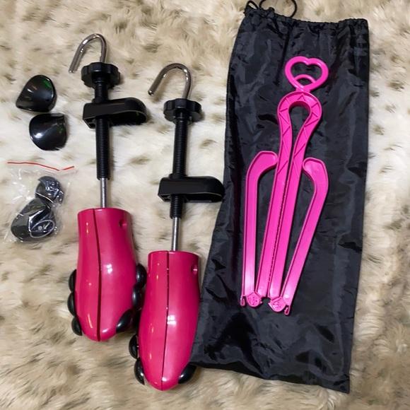 NEW hot pink Shoe stretcher